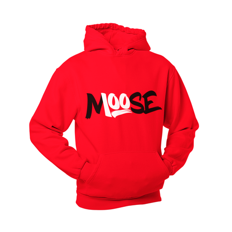 RED CLASSIC PULLOVER HOODIE