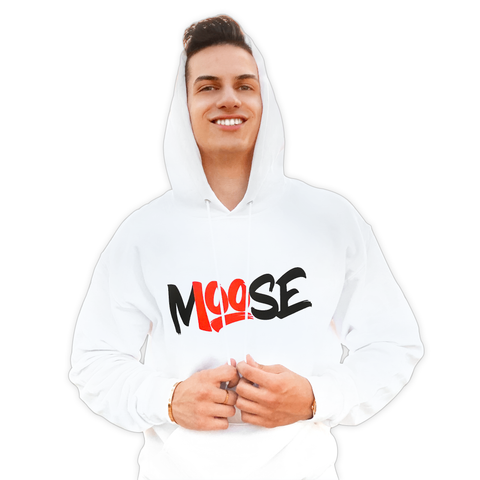 WHITE CLASSIC PULLOVER HOODIE
