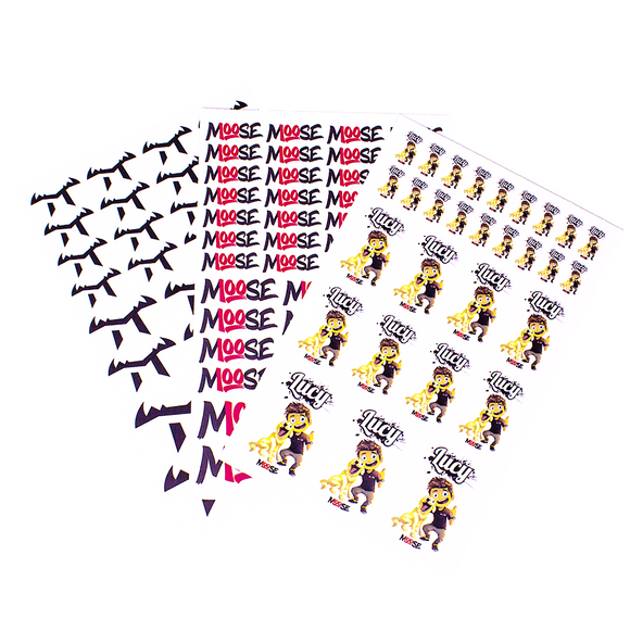MOOSE STICKER BUNDLE! (ALL STICKERS)