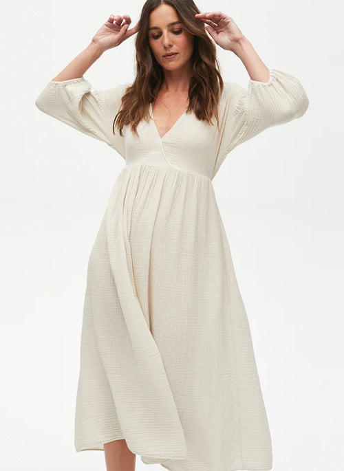 Gold Squiggle Necklace