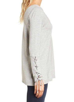 Lenita Lace-Up Tunic