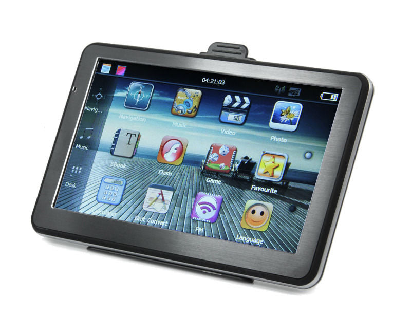 Premium Quality HD  Car GPS Navigation 7 inch