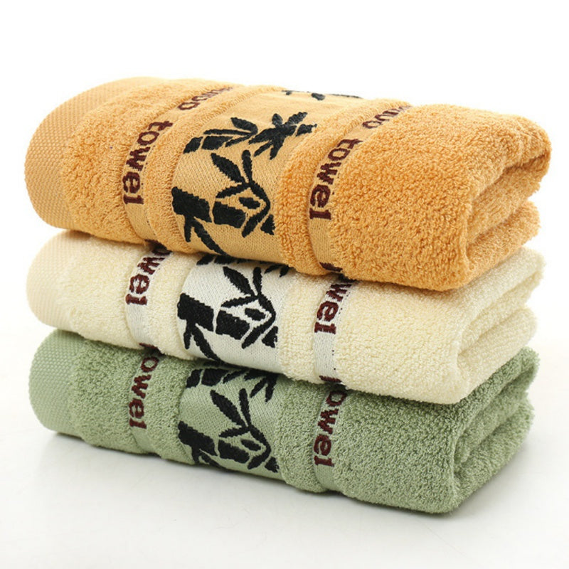 Stylish Colorful Bamboo Towels