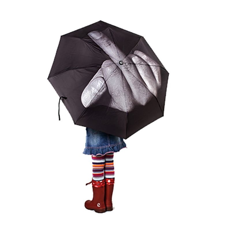 Put Your Middle Finger Up Umbrella
