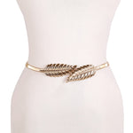 Women's Beautiful Stylish Leaf or Flower Shape Waist Belt