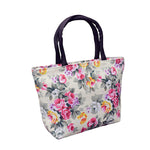 Women's Stylish Flower Print Tote Bags
