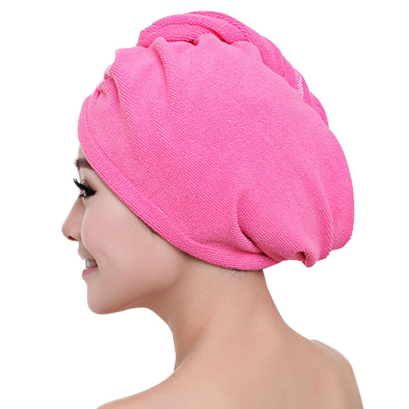 Stylish Colorful Hair Dry Shower Towels