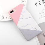 Stylish Colorful Marble Style Phone Cases for iPhone