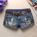 Women's Cool Trendy Low Waist Denim Shorts