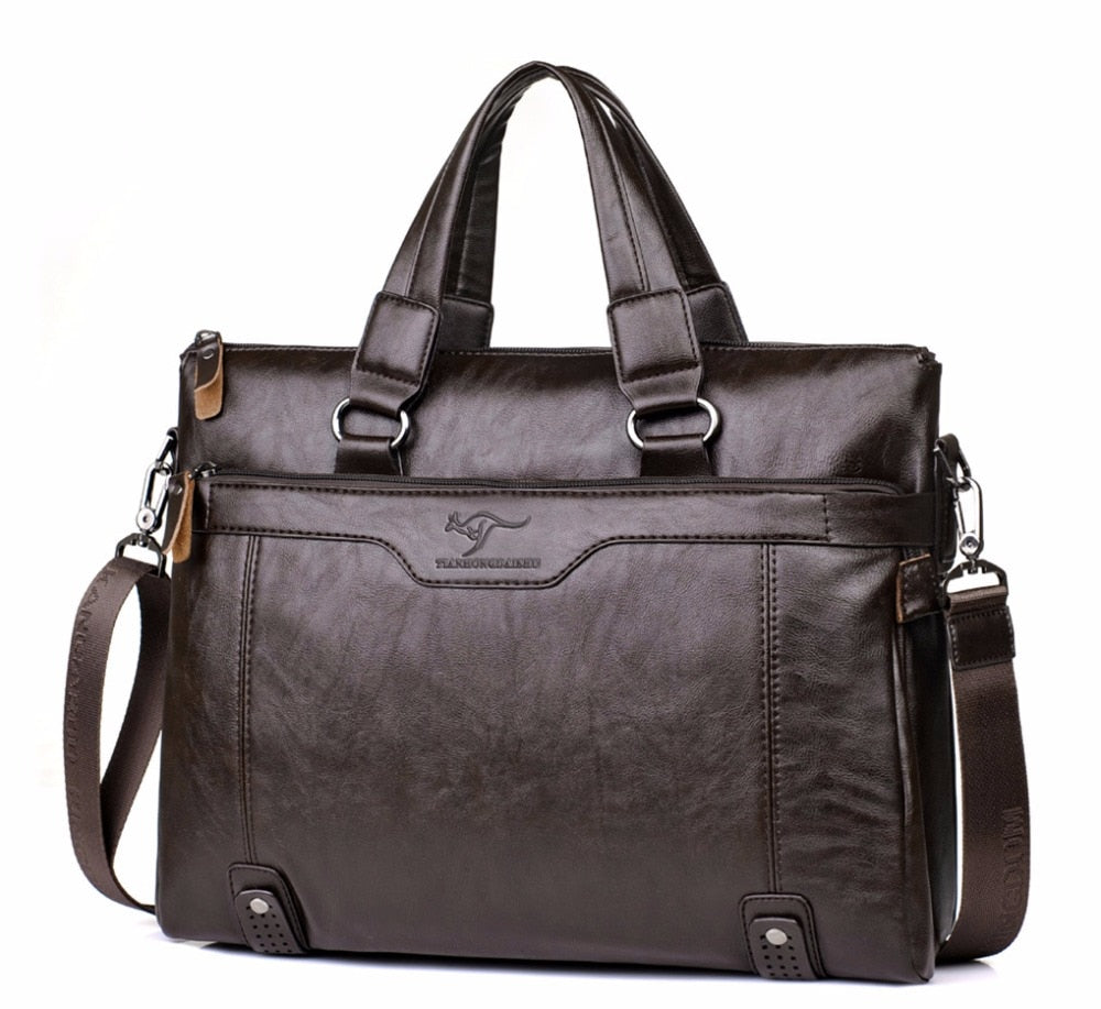 Men's Stylish High Quality Laptop Handbag - 14 INCH