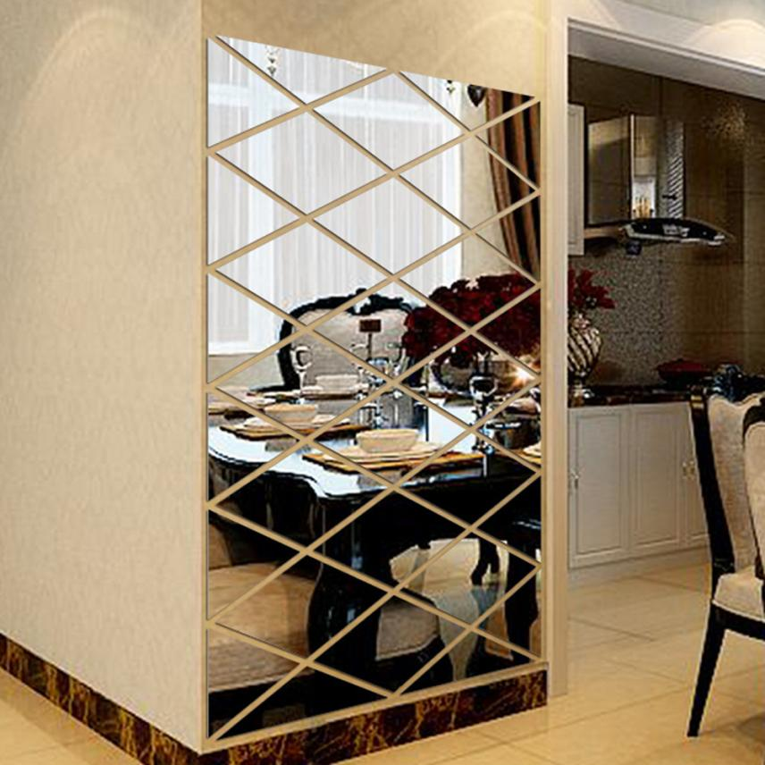 Stylish Premium High Quality 3D Mirror Wall Stickers