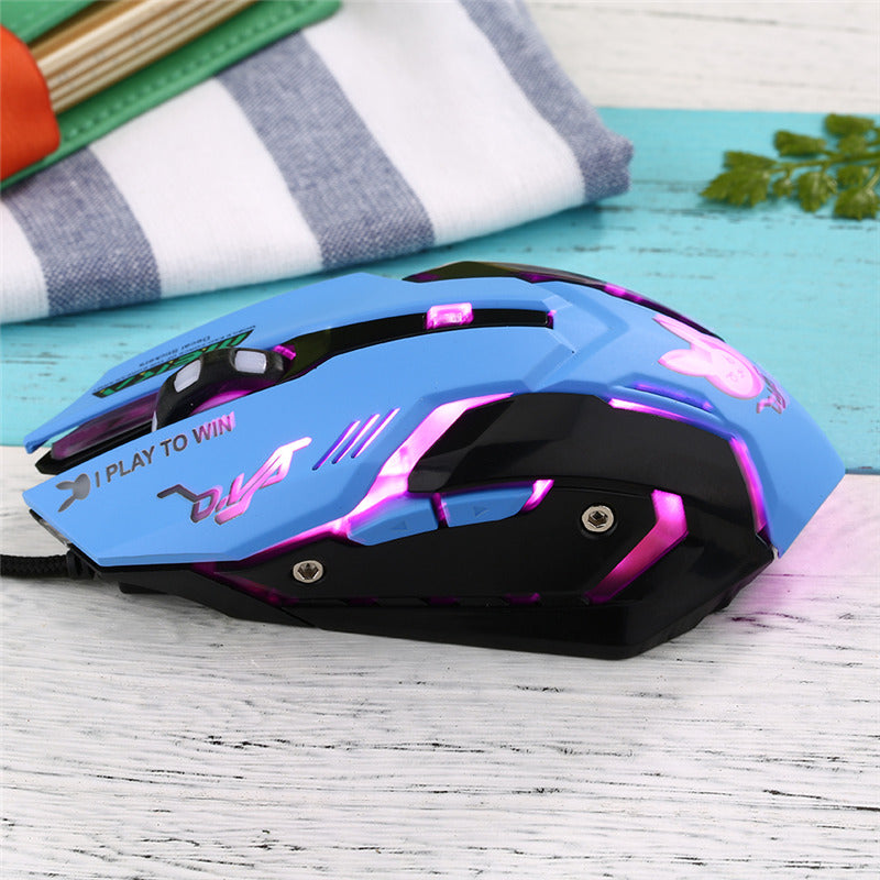 Wired Professional Gaming Mouse