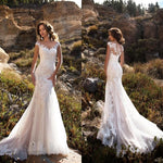 Women's Sleeveless Wedding Dresses
