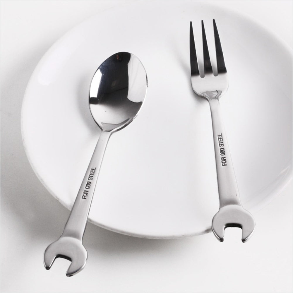 Stainless Steel Spoon and Forks Flatware Set