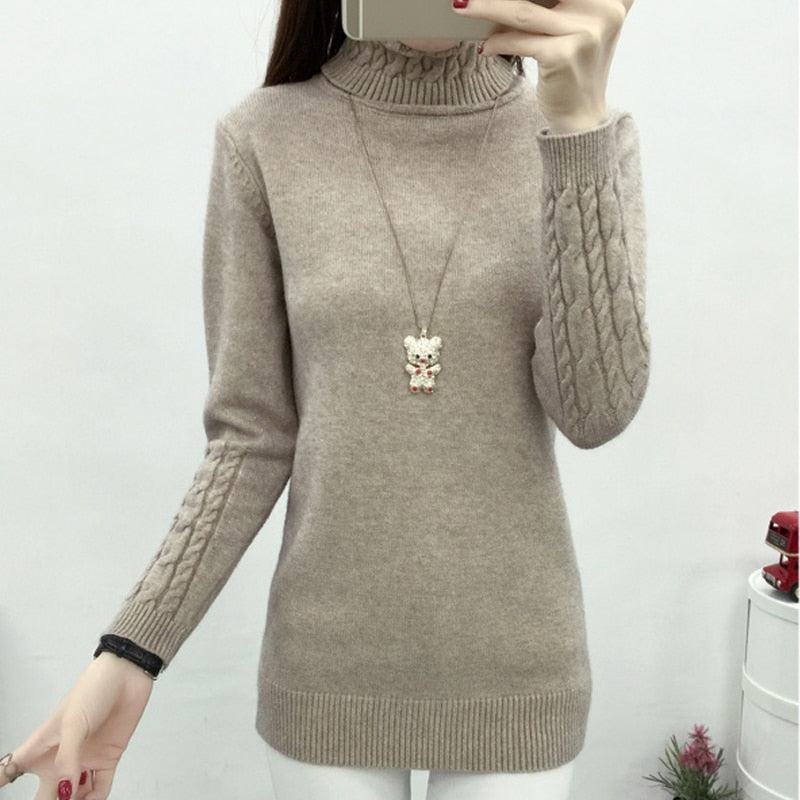 Women's Hot Sexy Cool Trendy Turtleneck Sweater