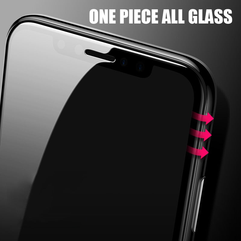 Curved Edge Protective Glass For Apple iPhone 5D