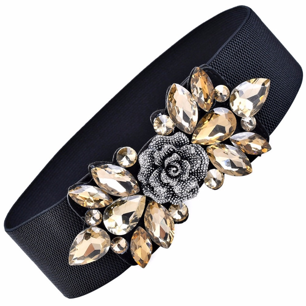 Women's Luxury Floral Belt