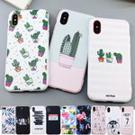 Leaf Print Phone Case for iPhone
