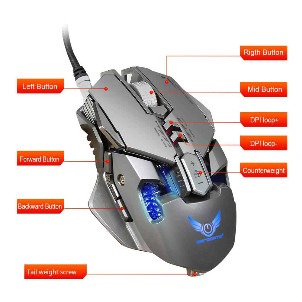 USB Wired Professional Gaming Mouse