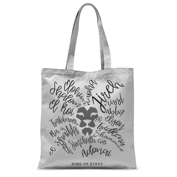 King of Kings Classic Sublimation Tote Bag