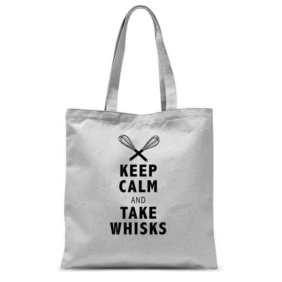 Take Whisks Classic Sublimation Tote Bag