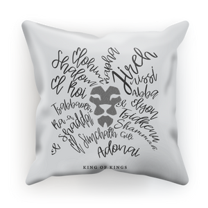 King of Kings Sublimation Cushion Cover