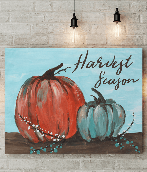 Harvest Season - Printed Canvas
