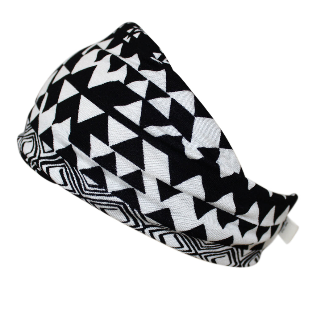 Headband -black and white