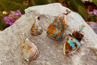 Bold & Bodacious: Boulder Turquoise Always Make a Statement