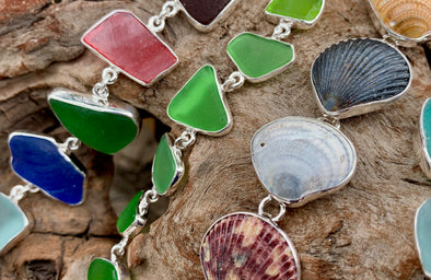 BT★Sterling: Treasures from the Sea | Signature Seaglass & Seashell Jewelry from Beach Treasures in Duck