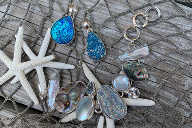 Shine On: Druzy Quartz Jewelry at Beach Treasures in Duck