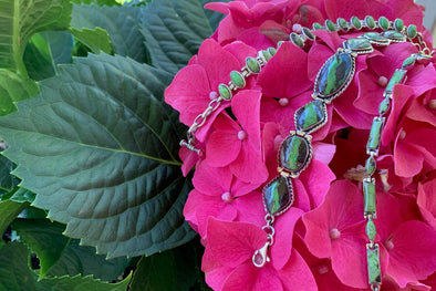 The Green of Spring & Splendid Things | Gaspeite Jewelry at Beach Treasures in Duck
