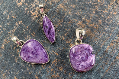 When the Night Sky Turns Purple | Russian Charoite Jewelry at Beach Treasures in Duck