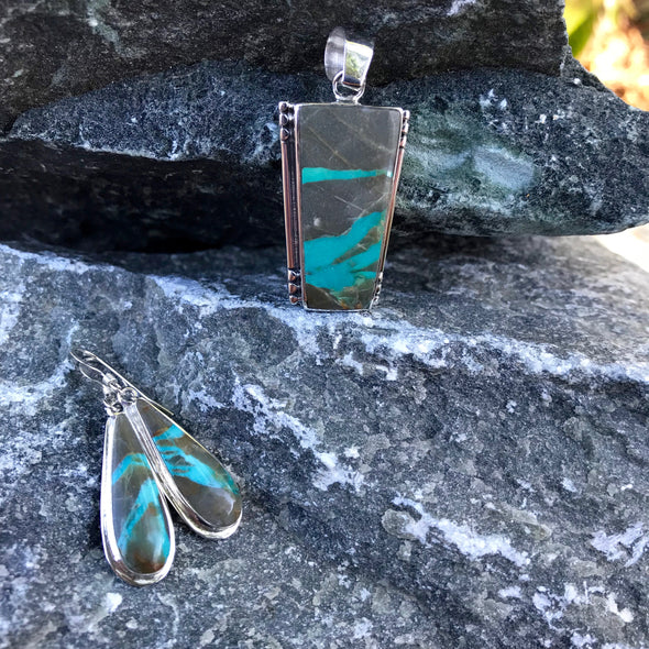 Boulder Turquoise Gemstone Jewelry | Beach Treasures Online | Beach Treasures in Duck on the Outer Banks