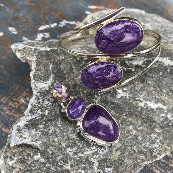 Charoite Gemstone Jewelry | Beach Treasures Online | Beach Treasures in Duck on the Outer Banks
