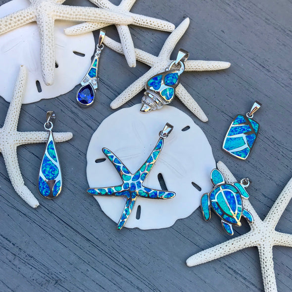 Crushed Opal Gemstone Jewelry | Beach Treasures Online | Beach Treasures in Duck on the Outer Banks