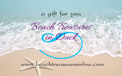 Beach Treasures Online Gift Card - BEACH TREASURES ONLINE