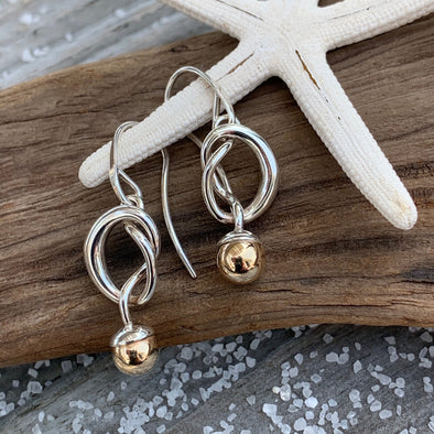 E. L. Designs Knotty Earrings | Ed Levin Designer Jewelry - BEACH TREASURES ONLINE