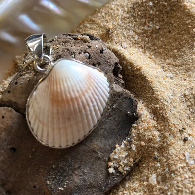 OBX Seashell Pendant - BEACH TREASURES ONLINE