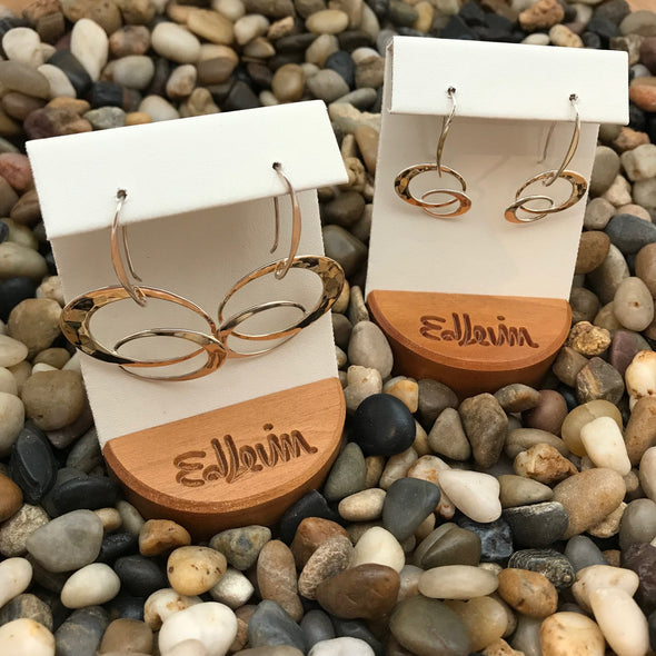 E.L. Designs Entwined Elegance Earrings | Ed Levin Designer Jewelry - BEACH TREASURES ONLINE