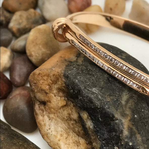 E. L. Designs Diamond Signature Bracelet | Ed Levin Designer Jewelry - BEACH TREASURES ONLINE