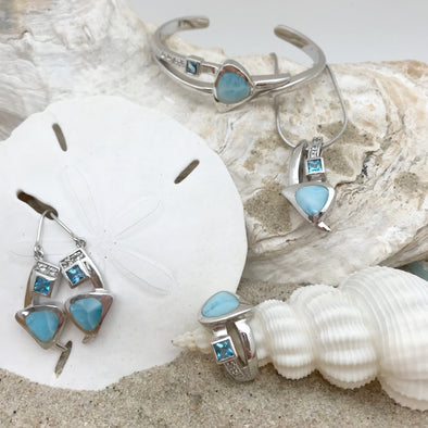 MarahLago Larimar: Curva Collection - BEACH TREASURES ONLINE
