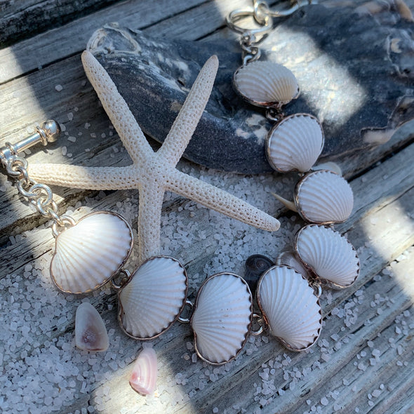 Beach Treasures Seashell Bracelet | BT☆Sterling®