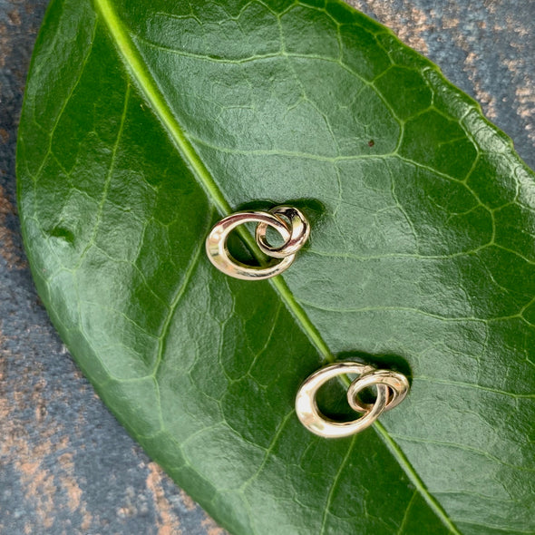 E. L. Designs Entwined Mini Earrings | Ed Levin Designer Jewelry - BEACH TREASURES ONLINE