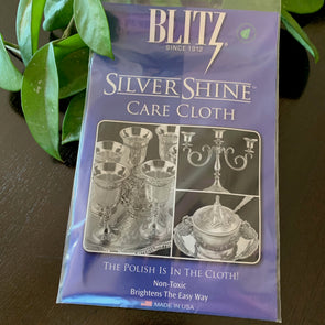 Silver Shine® by Blitz Care Cloth | Silver Polishing Cloth | Beach Treasures in Duck