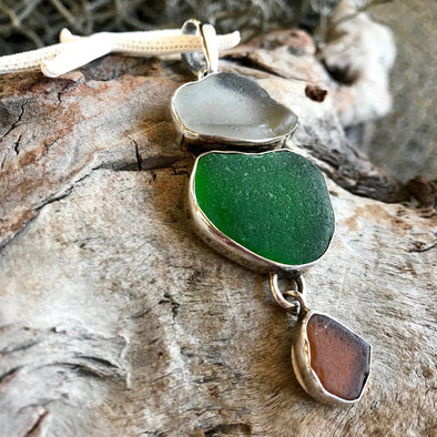 Chris Bales Seaglass Pendant