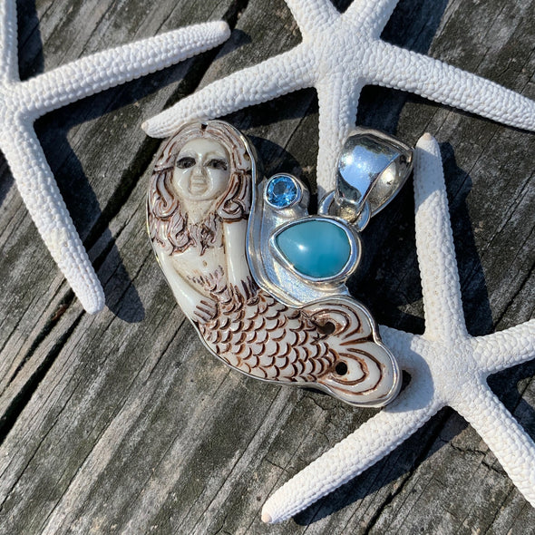 Chris Bales Mermaid Pendant
