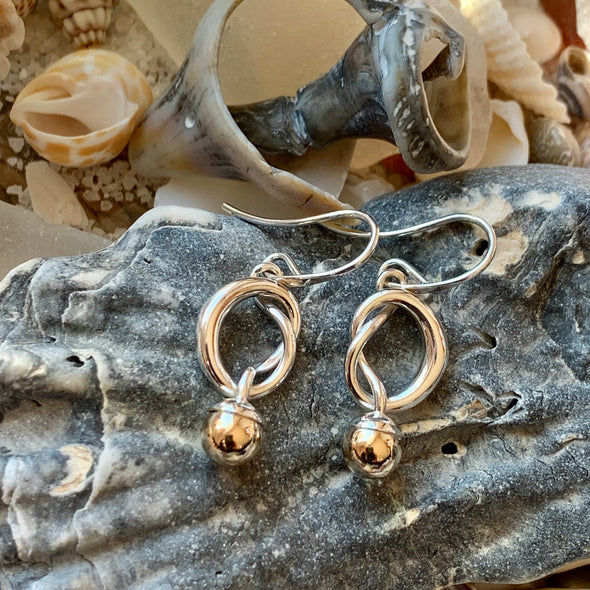 E. L. Designs Knotty Earrings | Ed Levin Designer Jewelry