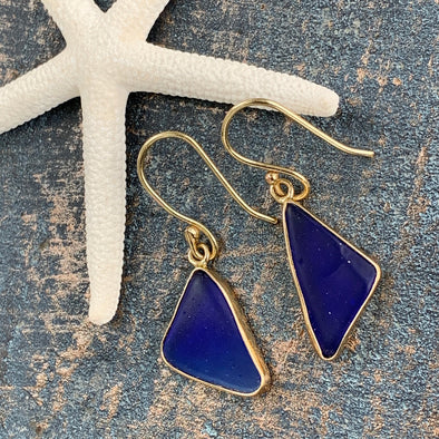 Alchemia Recycled Glass Earrings - BEACH TREASURES ONLINE