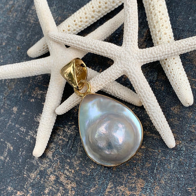 Alchemia Blister Pearl Pendant | Alchemia by Charles Albert